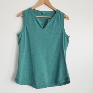 Woolrich womens teal color tank top